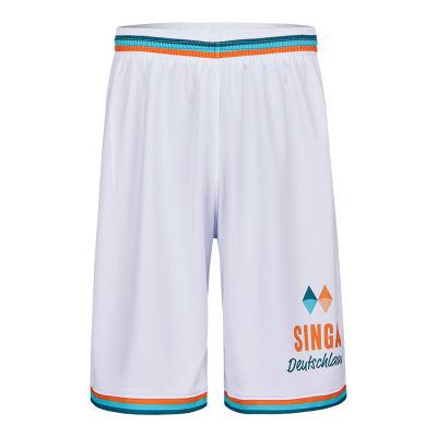Basketballshorts individuell bedruckt Front